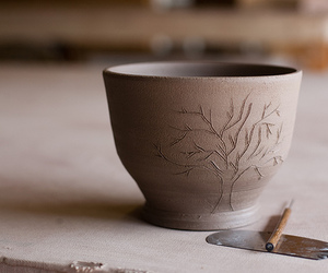 tree, pottery, and photography image