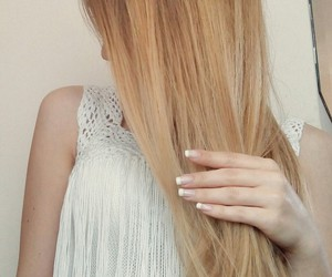 blonde, hair, and french image