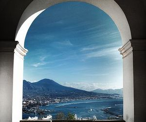 sea, italy, and landscape image