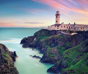 ireland, sea, and nature image