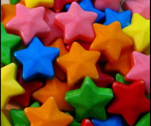 candy and star image