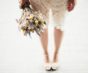 colors, flowers, and dress image