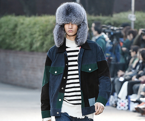fashion, male model, and runway image