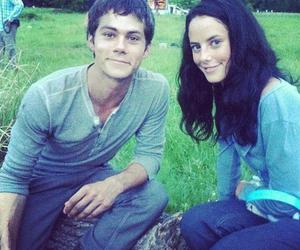 dylan o'brien, the maze runner, and KAYA SCODELARIO image