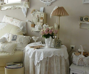 bedroom, vintage, and shabby chic image