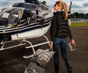 fashion, helicopter, and luxury image