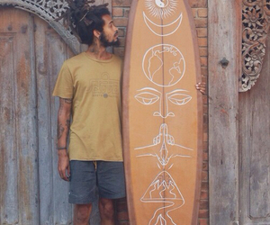 surf, boy, and hippie image
