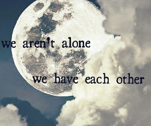 alone, friendship, and lovers image