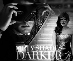 fifty shades, christian grey, and fifty shades darker image