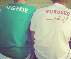 maroc and algerie image