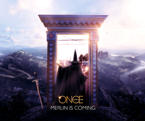 merlin, once upon a time, and ouat image