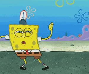 dance, spongebob, and sponge bob image