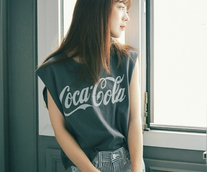 bangs, coca cola, and cocacola image
