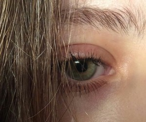 green, eyebrows, and eyes image