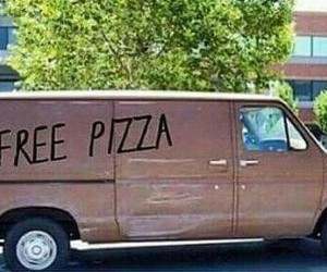 pizza, food, and kidnap image