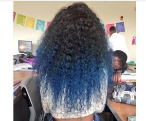 blue, cool, and girl image
