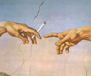 cigarette, michelangelo, and munich image