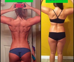 fitness, girl, and fitspo image