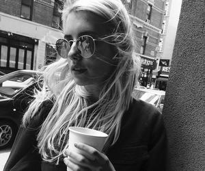 emma roberts, emma, and coffee image