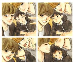 exo, baekyeol, and chanyeol image