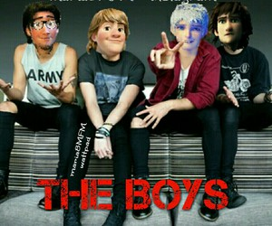 the boys, jelsa, and wattpad image