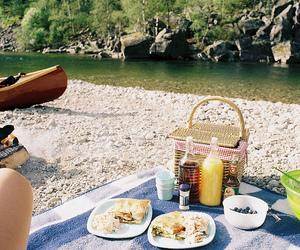 picnic, food, and summer image