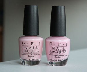 pink, opi, and nails image