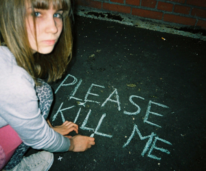 girl, kill, and grunge image