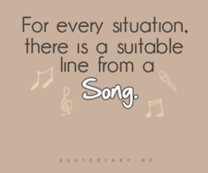 song, quote, and music image