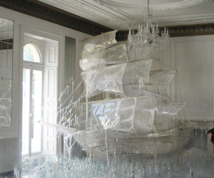 ship, ice, and art image