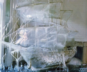 boat, tim walker, and ice image