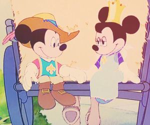 classic, disney, and mickey mouse image