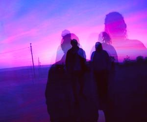 grunge, purple, and couple image