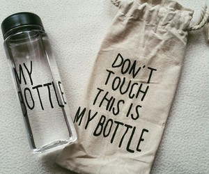 bottle, water, and my bottle image