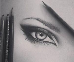 black-drawing-eye-pencil- image