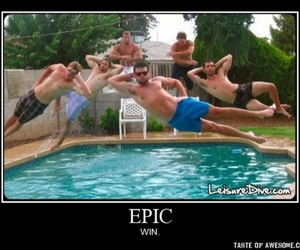 epic, pool, and funny image