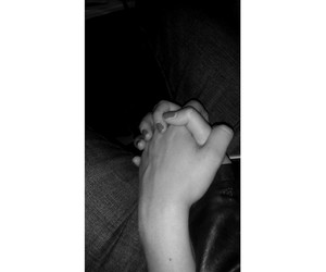 holding hands and perfect couple image