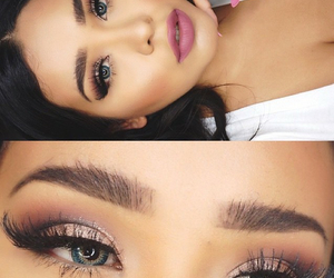 beautiful, cosmetics, and lashes image