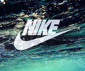 nike, water, and wallpaper image