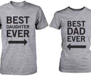 t-shirt, best dad, and father's day gift image
