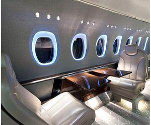 luxury, beautiful, and plane image