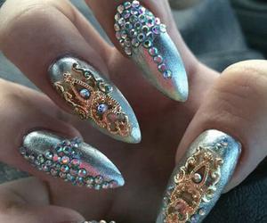 fashion, hands, and nail image
