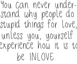 love, quote, and experience image