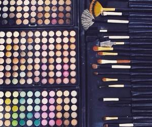 make up, beauty, and girl image