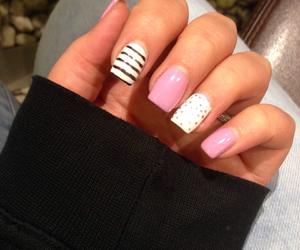 black, nail, and nails image