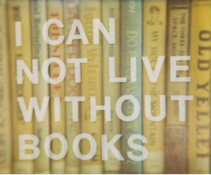 book, live, and quote image