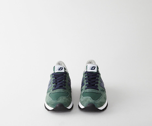 green, new balance, and sneakers image