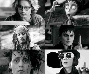 johnny depp, actor, and movies image