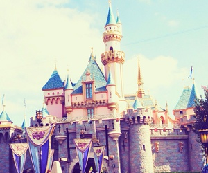 disney, castle, and beautiful image