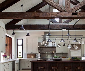farmhouse, inspiration, and kitchen image